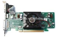 Ati radeon hd3450 256mb hdmi dvi vga tarjeta gráfica pci-e tarjeta de video adaptador f342f 0f342f cn- 0f342f