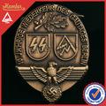 cobre antiguo personalizado insignias de sheriff