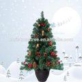 venda quente do jardim de árvores de natal com pés de maconha