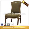 estilo americano de la cascada cómodo cojín h de hierro silla mecedora
