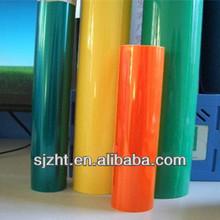 Vermelho rolo de pvc rígido para embalagem thermoform/pvc rígido folha vacuumform