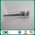 Nuevos de acero inoxidable de vidrio sujetador enfrentamiento de hardware, espejo de enfrentamiento