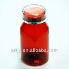 vacío botella de plástico pet