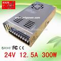 24v ca fuente de alimentación 300 vatios dc24v y fuente de alimentación 24v 300w ca fuente de alimentación