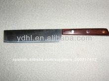Pequeño cuchillo cuchillo/chef cuchillo con mango de madera