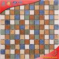 (TC105) azul cobalto 1 x 1 pared mosaico cerámico verde rojo teja Home Depot para cocina baño