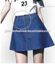Diseño casual pantalones de verano, pantalones vaqueros cortos, chica sexy pantalones vaqueros mujer jean