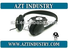 Audífonos de diadema, cascos para aerolíneas, autobuses, aviones y promocionales