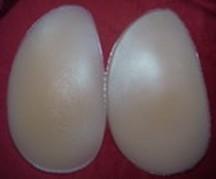glúteos de silicona y almohadillas para la cadera