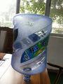 botellas de plástico galón