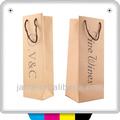 bolsas de yute vino en caja