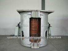 ST-GW 0,5-media frecuencia horno de fusión de aluminio para fundición