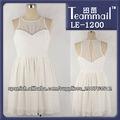 vestidos moldeado blanco