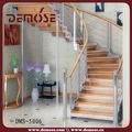 intérieur escaliers courbes poutre en acier