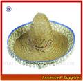 sombrero mexico con bolas/sombrero de halloween/sombrero de paja/de fiesta/costumbre/ de costumbre