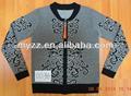 chaqueta de punto jersey de manufactura con manga larga
