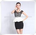 Oem de las señoras vestido de traje, la oficina de uniforme, uniformes para damas desde guangzhou