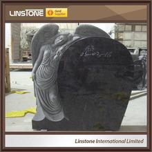angel de granito lápida del cementerio de objetos de desecho