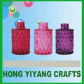Artesanías morados o rojos o rosas 80ml con botellas de perfume