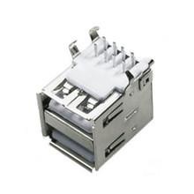 Maufacture china usb doble, 8p rj45 usb conector