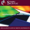 De color anti- cero y de color anti huellas dactilares pmma paneles de plástico