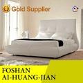 Indio de madera cama doble de diseño, indio cama con diseños