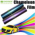 Precio de fábrica 3D Camaleón vinilo laminado de fibra de carbono de Cine para la etiqueta engomada del coche del abrigo