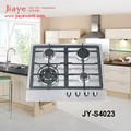 De acero inoxidable parte superior 4 quemador de la estufa de gas para la cocina vitrocerámicas( jy- s4023)