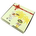papel personalizado entrega congelados caixa de pizza