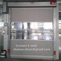automático de tipo de pvc laminado puerta de persiana