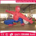 2014 juguetes del hombre araña inflables de plástico para la venta