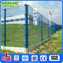 Paneles de la cerca de malla de alambre recubierto de PVC