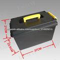 Tb901, caja de plástico al aire libre, municiones de plástico pueden