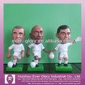 personalizado de plástico de jugador de fútbol de juguete