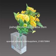 personalizado de acrílico florero de flores diseños hechos a mano