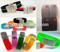 personalizado 2014 alerta médica código qr silicona pulsera de identificación médica élite identificación pulsera