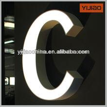 acrílico decorativo letras del alfabeto canal de señal trim