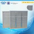 Filtre à air de panneau de fibre de verre à haute température