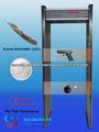 detector de metales marco de la puerta
