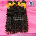 Confiable 100% venta al por mayor de pelo barato, de oro de las tramas del pelo, natural del cabello rizo texturizador