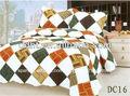 Patchwork plaid conjuntos de ropa de cama de venta al por mayor baratos 100% de algodón acolchado colchas/cubrecamas, impreso