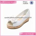 flores color de rosa los niños zapatos