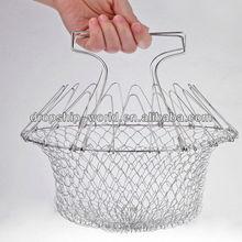 magic chef cesta plegable de acero inoxidable 12 1 en herramienta de la cocina