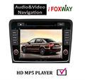 en el tablero de coches reproductor de radio con el bluetooth gps ipod 2014 para skoda superb coches reproductor multimedia