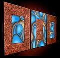 lienzo abstracto pintura del arte