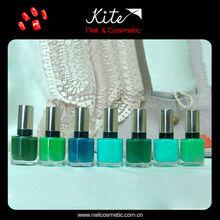 2014 venta caliente nailart colorido esmalte de uñas de colores