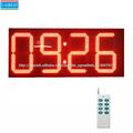 nueva tecnología del producto en china grande al aire libre luz led digital reloj de pared