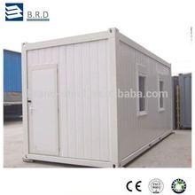 panel sándwich de acero de la estructura del paquete plano casa de contenedores para la venta