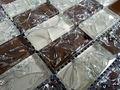 Foshan. glace, crackle mosaïque de verre