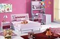 قوانغتشو سوق الجملة/ أثاث غرفة نوم الاطفال مع شكل قلب/ 2014 939 أثاث غرفة نوم الاطفال للبيع